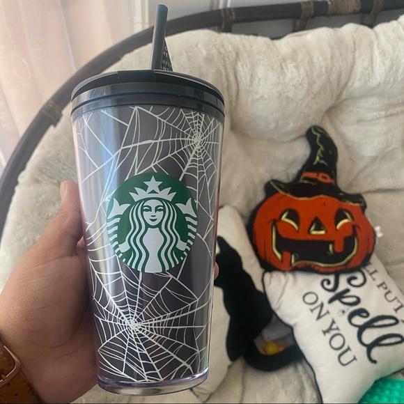 Starbucks glow in the dark Halloween tumbler 16 oz
